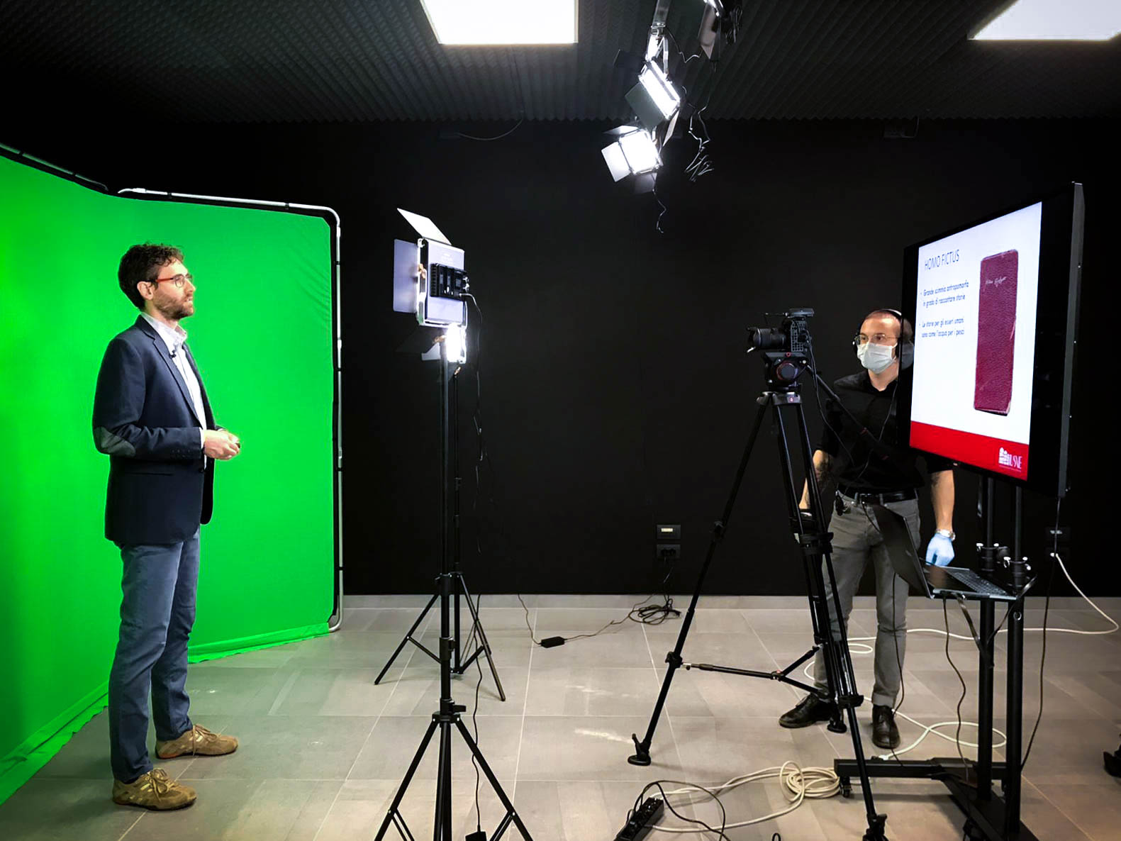Prosegue la produzione dei contenuti multimediali per l'apprendimento a distanza