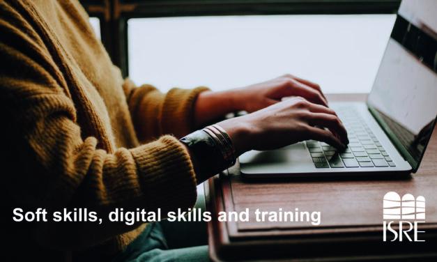Soft skills, digital skills and training