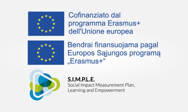 S.I.M.P.L.E – Erasmus Plus è il programma dell'Unione europea per l'Istruzione, la Formazione, la Gioventù e lo Sport